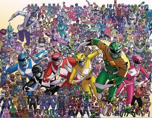 [Mighty Morphin Power Rangers #25 (Koblish Wraparound Variant) (Product Image)]