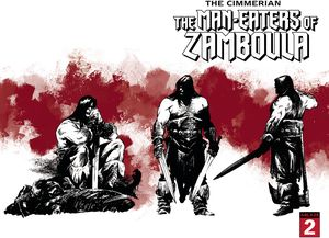 [Cimmerian: Man-Eaters Of Zamboula #2 (Cover C Recht Wraparound) (Product Image)]