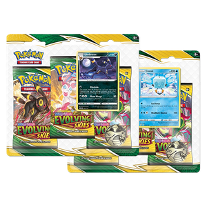 [Pokémon: Sword & Shield: 7: Evolving Skies: 3 Pack Booster (Product Image)]