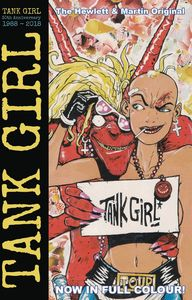 [Tank Girl: Full Color Classics 1988-1989 #1 (Cover C Hewlett) (Product Image)]