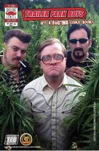 [Trailer Park Boys Get A F#Ing Comic Book #1 (Cover D Photo) (Product Image)]