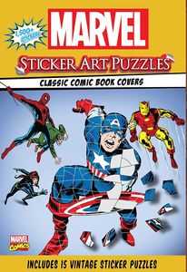 [Marvel Sticker Art Puzzles (Product Image)]