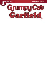 [Grumpy Cat/Garfield #1 (Cover J Blank Authentix Edition) (Product Image)]