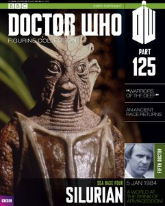 [Doctor Who: Figurine Collection: #125: Silurian (Product Image)]