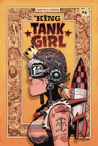 [King Tank Girl #4 (Cover A Parson) (Product Image)]