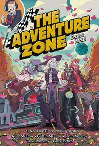[The Adventure Zone: Volume 3: Petals To The Metal (Hardcover) (Product Image)]