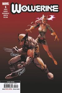 [Wolverine #1 (2nd Printing Variant DX) (Product Image)]