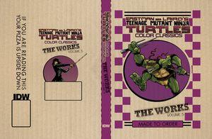 [Teenage Mutant Ninja Turtles: The Works: Volume 5 (Hardcover) (Product Image)]