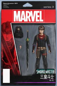 [Sword Master #1 (Christopher Action Figure Variant) (Product Image)]