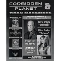 [Jerry Doyle and Mira Furlan Signing (Product Image)]