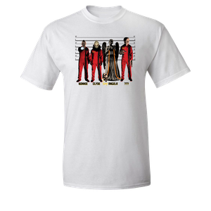 [Doctor Who: T-Shirt: Monster Prisoner Line-Up (Product Image)]
