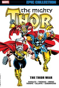 [The Mighty Thor: The Thor War (Epic Collection) (Product Image)]