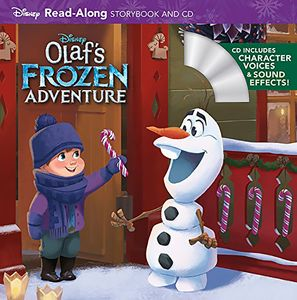 [Disney Storybook & CD: Olaf's Frozen Adventure (Product Image)]