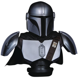 [Star Wars: Legends In 3D 1:2 Scale Bust: Mandalorian MK IV (Product Image)]