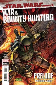 [Star Wars: War Of The Bounty Hunters Alpha #1 (Product Image)]