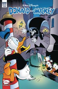 [Donald & Mickey: Quarterly Treasure: Menace In Venice (Cover A Na) (Product Image)]