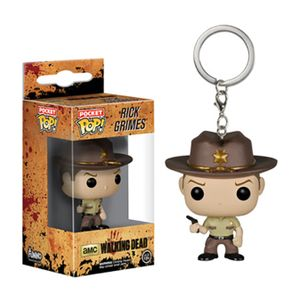 [Walking Dead: Pop! Vinyl Keychains: Rick Grimes (Product Image)]