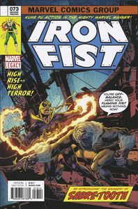 [Iron Fist #73 (Legacy) (2nd Printing Perkins Variant) (Product Image)]