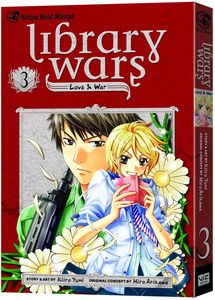 [Library Wars: Volume 3 (Product Image)]