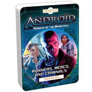 [Runners, Mercs & Criminals: Adversary Deck: Genesys RPG (Product Image)]