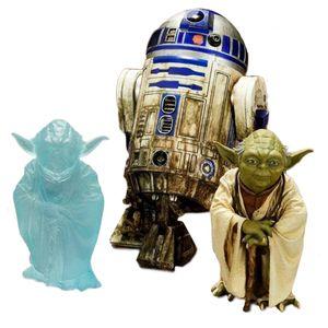 [Star Wars: ArtFX+ Statue 2 Pack: Dagobah Yoda & R2-D2 (Product Image)]