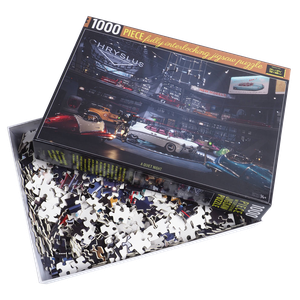[Fallout: Chryslus Showroom Jigsaw Puzzle: A Quiet Night (Product Image)]