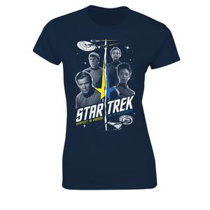[Star Trek: Discovery: Women's Fit T-Shirt: Timelines (Product Image)]
