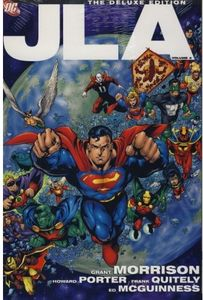 [JLA: Deluxe Edition: Volume 4 (Hardcover - Titan Edition) (Product Image)]