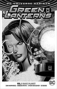 [Green Lanterns: Volume 1: Rage Planet (Rebirth) (Product Image)]