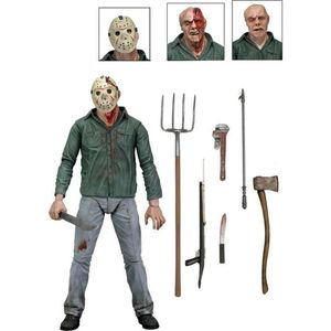 [Friday The 13th: Part 3: Ultimate Action Figure: Jason Voorhees (Product Image)]