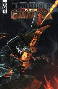 [Transformers: King Grimlock #2 (Cover C Harding Variant) (Product Image)]