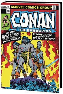 [Conan: The Barbarian: Original Marvel Years: Omnibus: Volume 4 (DM Variant Hardcover) (Product Image)]