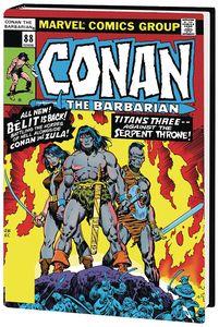 [Conan: The Barbarian: Original Marvel Years: Omnibus: Volume 4 (DM Variant Hardcover) (Product Image)]