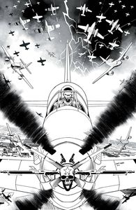 [Dark Blood #1 (Cover F Unlockable Mora Black & White Virgin Variant) (Product Image)]