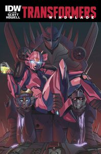 [Transformers: Windblade #7 (Product Image)]