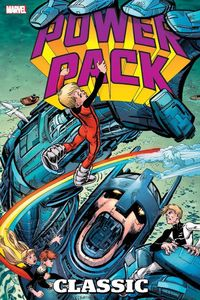 [Power Pack: Classic Omnibus: Volume 1 (DM Variant Hardcover) (Product Image)]