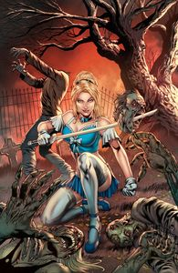 [Grimm Spotlight: Cinderella Vs Zombies (One Shot Cover A Vitorin) (Product Image)]