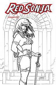 [Red Sonja #22 (Linsner Black & White Variant) (Product Image)]