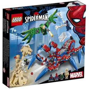 [LEGO: Spider-Man: Spider-Man's Spider Crawler (Product Image)]