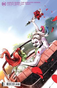 [Harley Quinn: The Animated Series: The Eat Bang Kill Tour #1 (Cover C Davi Card Stock Variant) (Product Image)]
