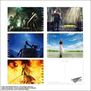 [Final Fantasy VII Remake: Postcard Set: Image Art (Product Image)]