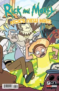 [Rick & Morty: Rick's New Hat #3 (Cover B Stern) (Product Image)]