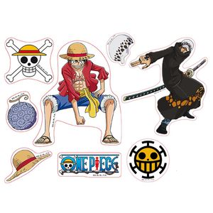 [One Piece: Stickers: Luffy & Law (Product Image)]