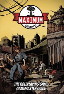 [Maximum Apocalypse: The Roleplaying Game: Gamemaster Guide (Product Image)]