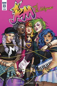 [Jem & The Holograms #23 (Subscription Variant) (Product Image)]
