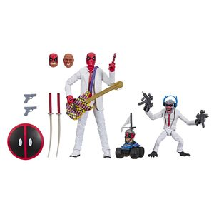 [Marvel Legends 80th Anniversary Action Figure: Deadpool & Hit Monkey White Suits 2-Pack (Product Image)]