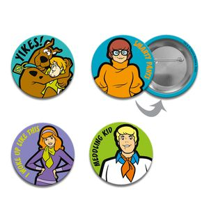 [Scooby Doo: Button Badge Set (Product Image)]