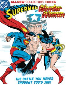 [Superman Vs Wonder Woman (Tabloid Edition Hardcover) (Product Image)]