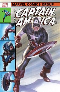 [Captain America #695 (Alex Ross Lenticular Homage Variant) (Legacy) (Product Image)]