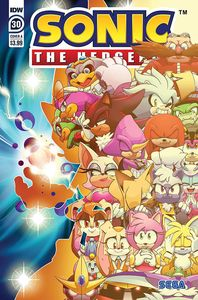 [Sonic The Hedgehog #30 (Cover A Thomas) (Product Image)]